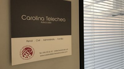 Despatx professional a Igualada i a la Ciutat de la Justícia de Barcelona